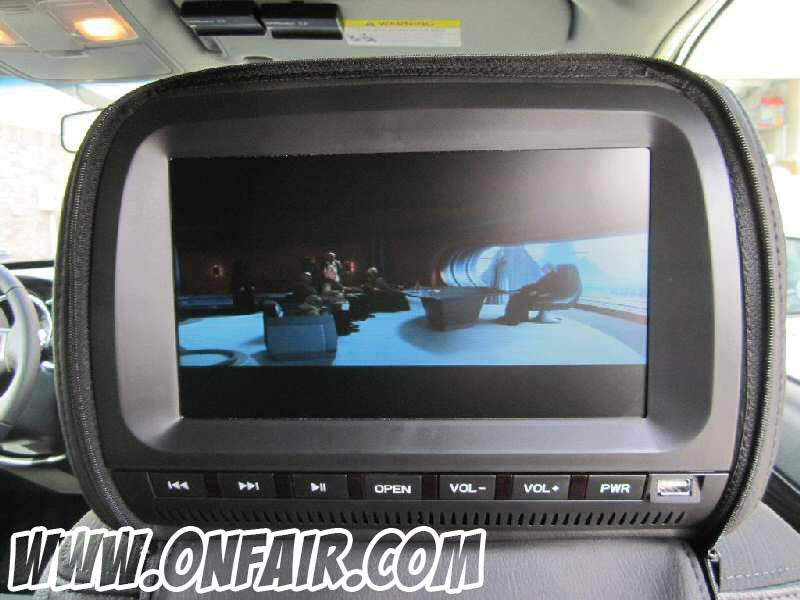 2011 Kia Sorrento EX Headrest DVD Player Install