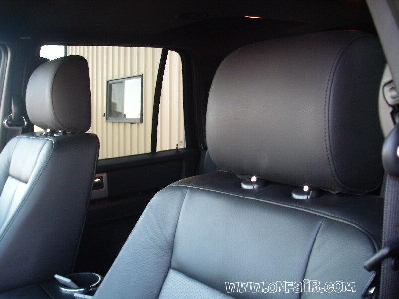 2011 Ford Expedition Headrest DVD Player Install