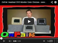 headrest dvd player colors