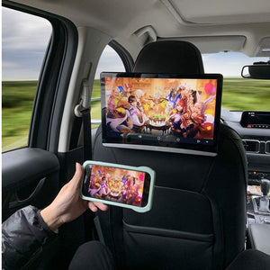 "DDAuto 12.5"" Android 9 Headrest Video Monitor Player with WiFi Touch Screen DD125A"