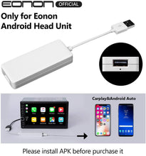 Load image into Gallery viewer, Eonon A0585 Android Auto and Car Play Autoplay Dongle for Android 8.0/8.1/9.0