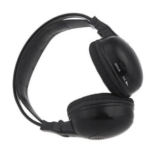 Load image into Gallery viewer, [2 pack] 2 Channel IR Wireless Car Audio Headphone Headset for Headrest DVD Monitors IR-X