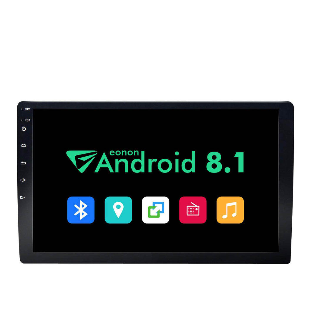 Eonon GA2168K 10.1 Inch Android 8.1 Double Din in-Dash Car Radio