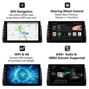 Eonon GA9150KW Android 8.1 Apple Carplay Car Radio for BMW E46 3 Series 1999-2004