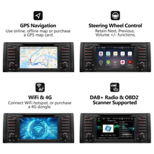Load image into Gallery viewer, Eonon GA9201B Android 8.0 Apple Carplay Car Radio for BMW E39 1995-2002