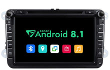 "Load image into Gallery viewer, EONON GA9253B Android 8.1 32G ROM QuadCore 8"" Android Car stereo for Volkswagen SEAT SKODA"