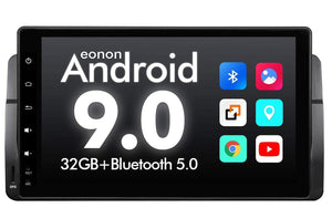 "Eonon GA9350B for BMW E46 1999-2004 E46 Android 9.0 – 9"" Car in-dasy DVD Player GPS"
