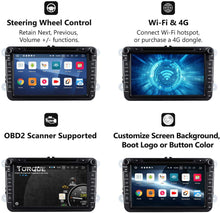 Load image into Gallery viewer, EONON GA9353 for Volkswagen latest Android 9.0 Quad-Core 8 inch android car stereo