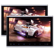 "Load image into Gallery viewer, PAIR - 10.1"" Headrest DVD Player Monitors with 1080P USB SD"