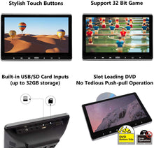 Load image into Gallery viewer, Eonon C0318 2019 (PAIR) 11.6 Inch 1080P HD Digital Monitor Car Headrest DVD Player Monitors HDMI Remote Control USB SD