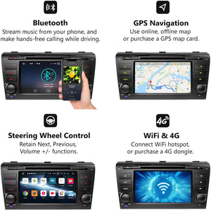 Eonon GA9151B Mazda 3 (2004-2009) Android 8.0 7 Inch Touchscreen Car DVD CD Receiver