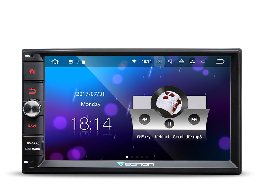 Eonon GA2165 Android 7.1 Double Din Car Stereo 1024x600 HD Universal