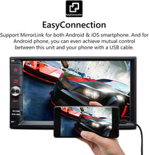 Load image into Gallery viewer, Eonon GA2175 Android 8.1 Double Din Car Stereo 1024x600 HD Universal
