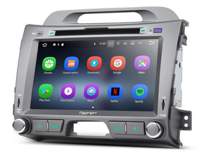 "Eonon GA8200 KIA Sportage Series 3 Android 7. 1 In Dash Car Stereo GPS 8"" Touch Screen"