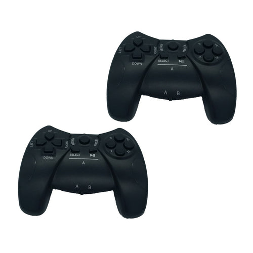 [2 Pack] Wireless Game Remote Controller for Headrest DVD Players Native 32 Games