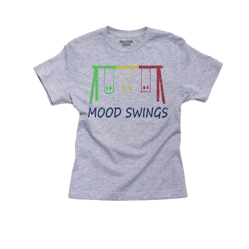 Colorful Swing Set Graphic T-Shirt, Framed