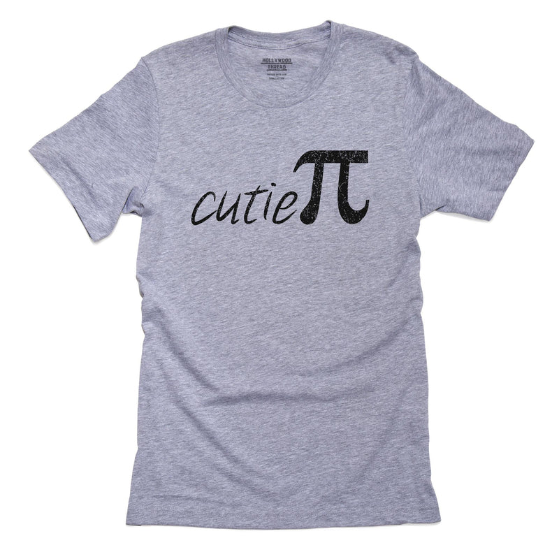 Cutie Pi - Pi Day 3-14 Cool Graphic Design T-Shirt, Framed Print, Pillow, Golf Towel