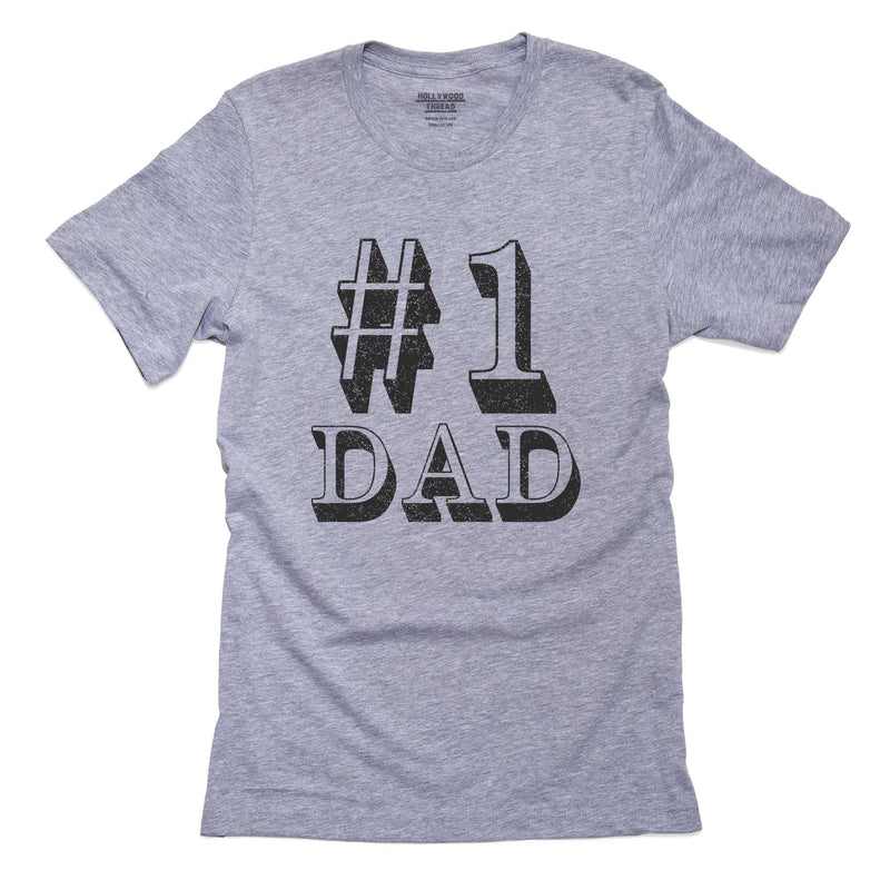 Classic World's #1 Dad Best Dad T-Shirt, Framed Print, Pillow, Golf Towel