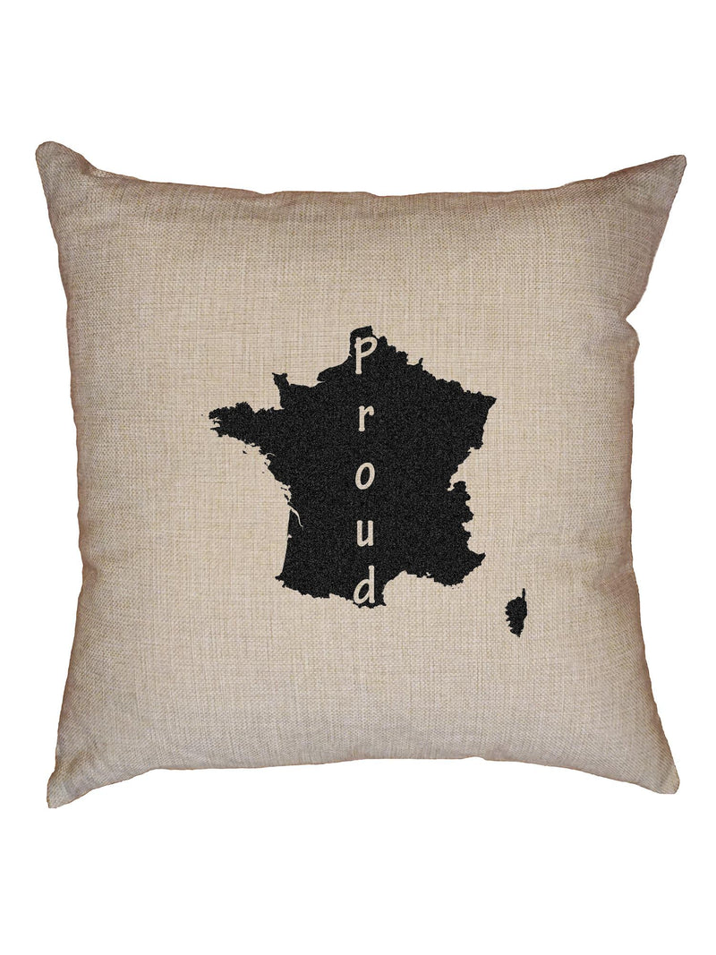 France Proud T-Shirt, Framed Print, Pillow, Golf Towel