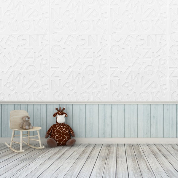 10pcs 26 English Letters Wallpaper