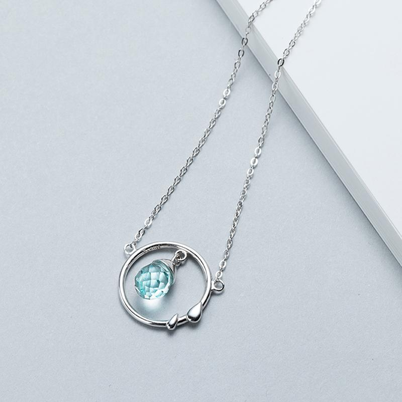 Summer Raindrop Personalized Necklace Pendant