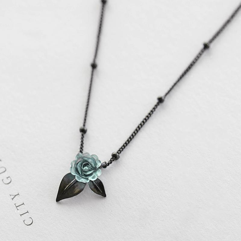 Thorny Rose Original Design Personalized Minimalist Sexy Necklace
