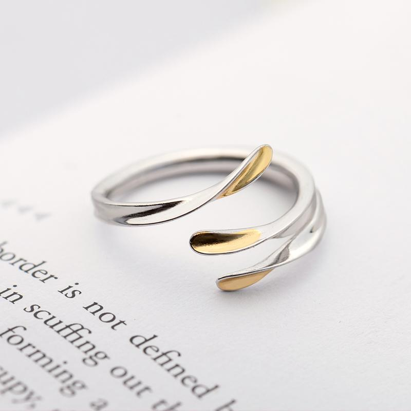 Unruly Personalized Adjustable Open End Couple Ring