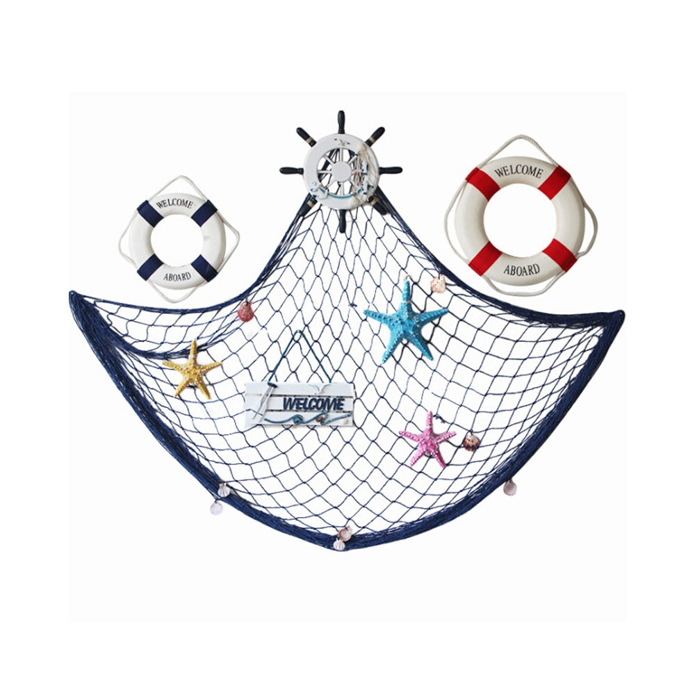 3D  Fishing Net Hanging Mesh Home Decor