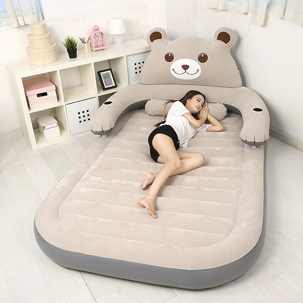 Cartoon Bear Lazy Couch Tatami Household Portable Air Bed