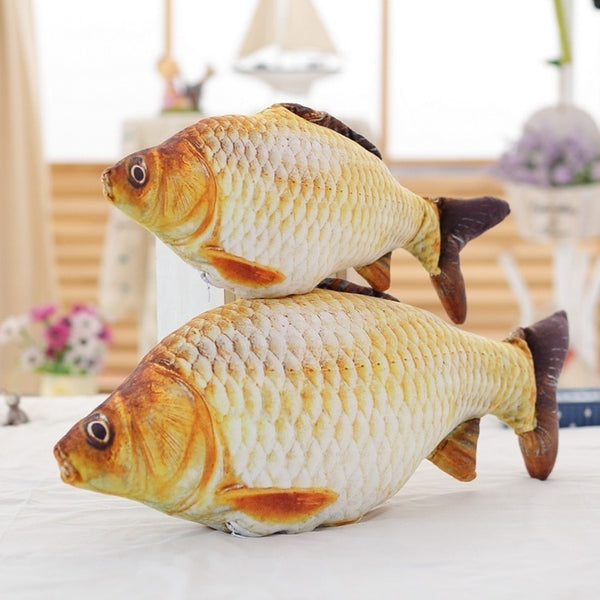 Cute Soft Animal Fish Plush Toys Creative Pillow Cushion