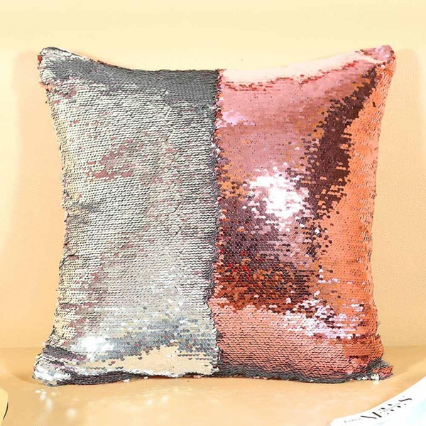 Magical Color Changeable Sequin Cushion Cover - unscandy