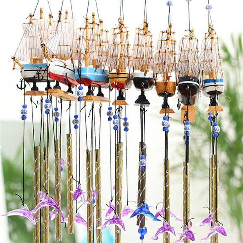 Boat Shaped Wind Chime - unscandy