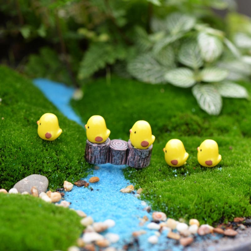 Mini Animal  Resin Garden Figurines  Miniatures