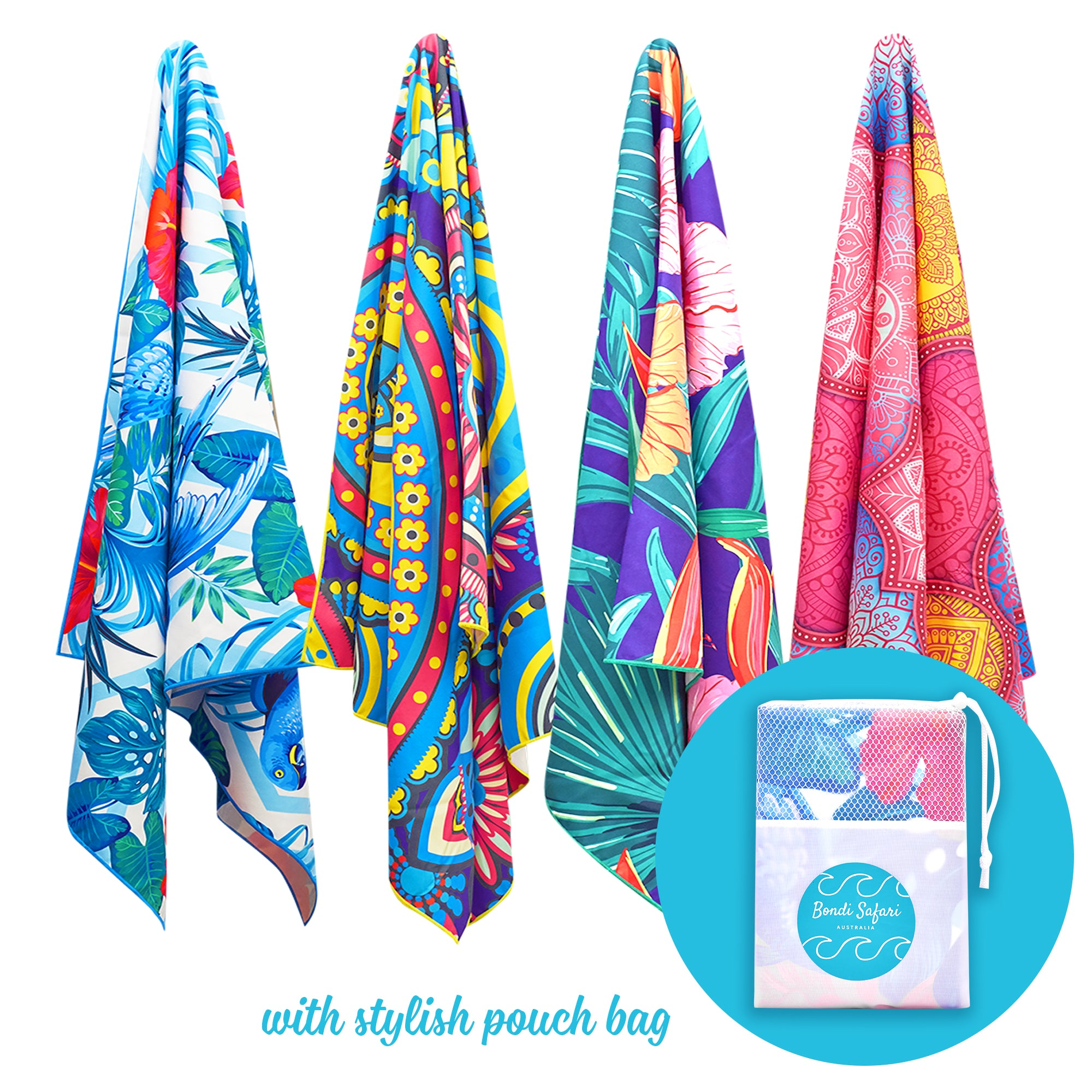 Extra Large Beach Towels.Sand Free Quick Dry Lightweight Microfiber Beach Towel For