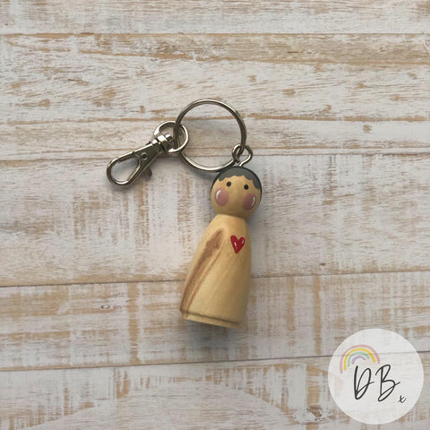 dilly starkers keyring
