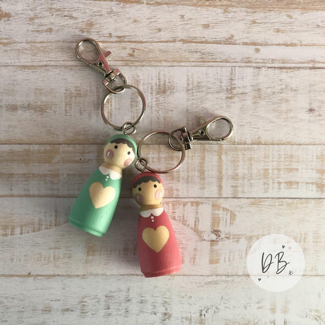 You & Me Dilly Keyring