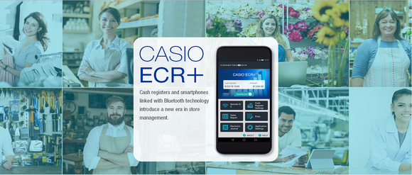 CASH REGISTERS WITH BLUETOOTH® WIRELESS TECHNOLOGY