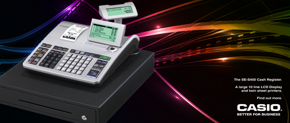 Casio Tills from Premier Cash Registers