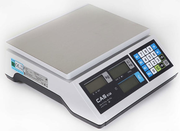 CAS ERJR Retail Scale (Flat Plate or Scoop) - Premier Cash Registers