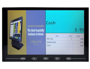 "Casio HDMI Customer Display App with 9"" Screen - Premier Cash Registers"