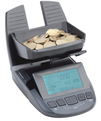 Cashtec RS2000 Coin & Note Counting Scale - Premier Cash Registers