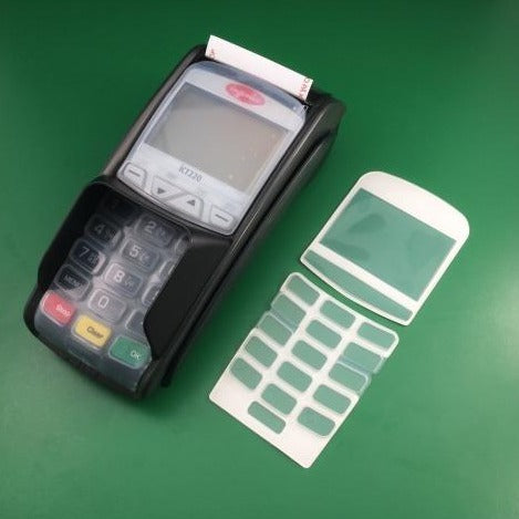 Ingenico ICT220 PED Card Terminal Keypad & Screen Covers - Premier Cash Registers