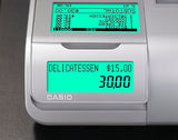 Casio SE-C450 Cash Register rear display