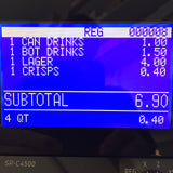 Casio SR-S4000 Cash Register (Monthly Rental) - Premier Cash Registers