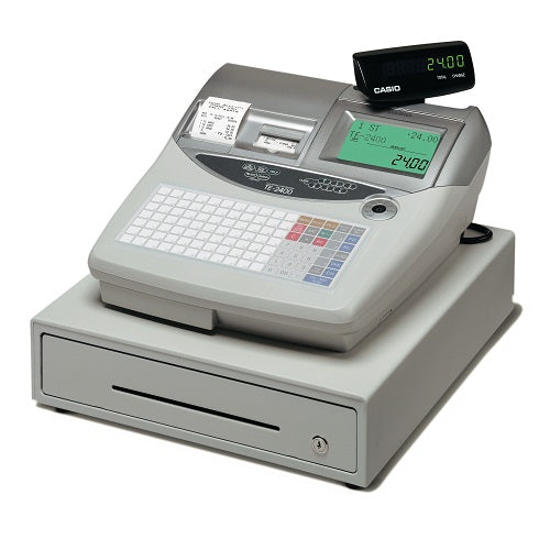 Casio TE-2400 Cash Register - Premier Cash Registers