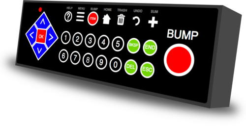 ChefTab® Bump Bar - Premier Cash Registers