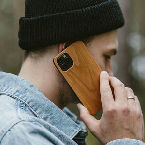 Classic coque iPhone - Merisier - OakywoodFrance