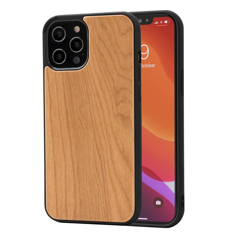 Bumper coque iPhone - Merisier en bois - Oakywood France