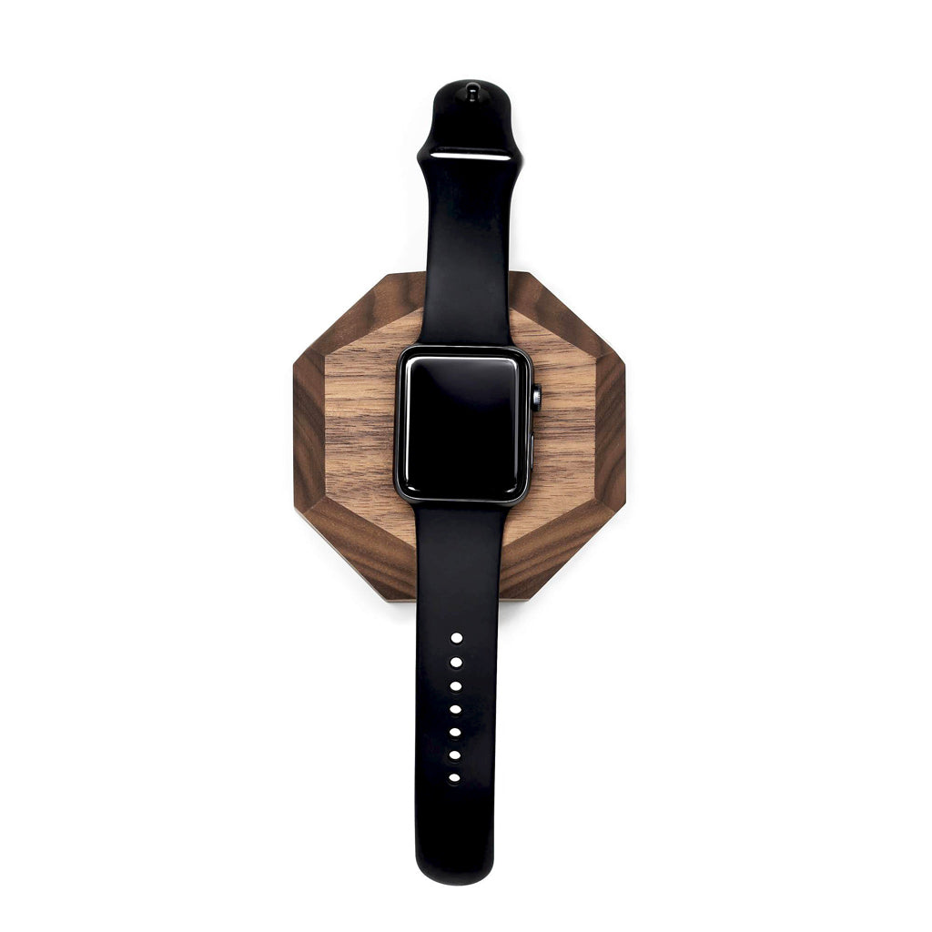 Apple watch dock chargeur en bois - Oakywood France
