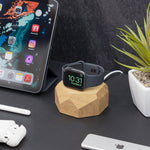 Charger l'image dans la galerie, Apple watch dock chargeur en bois - Oakywood France